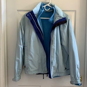 LL BEAN Windbreaker and Fleece Jackets
